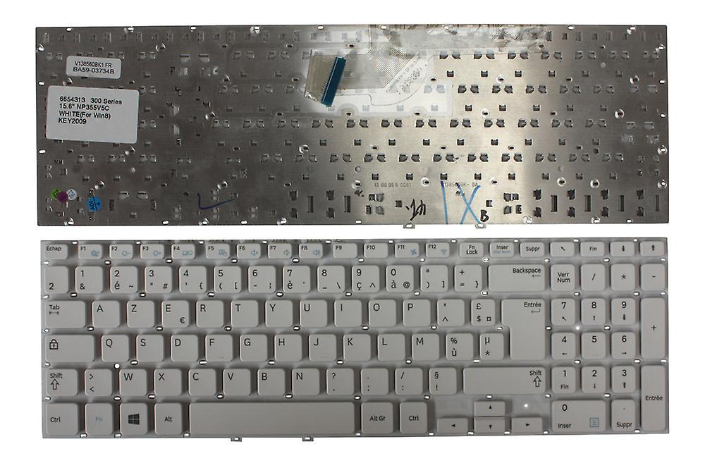 Samsung série 3 355V5C-S05 blanc Windows 8 Layout Français remplaceHommest clavier d'ordinateur portable