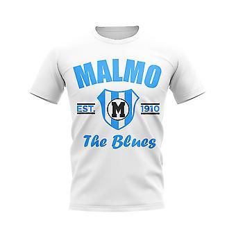 Malmo establecido fútbol camiseta (blanco)