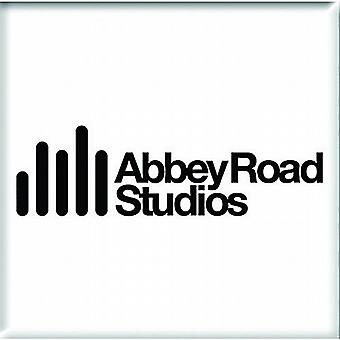 Abbey Road Studios steel fridge magnet      75mm square (ro)