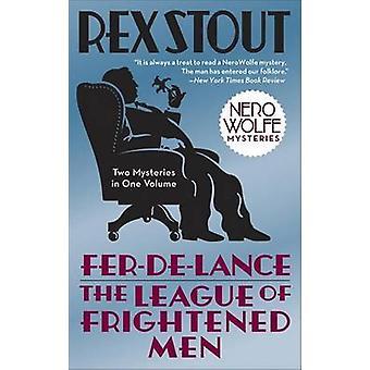 Fer-de-Lance & the League of Frightened Men by Rex Stout - Loren D Es