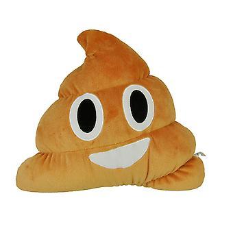 Necknapperz Emoji Poo Soft Toy