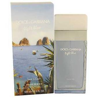 Light Blue Love In Capri By Dolce & Gabbana Eau De Toilette Spray 3.4 Oz (women) V728-536545