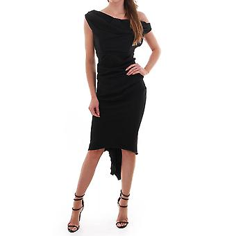 Kevan Jon Sian Drape Dress