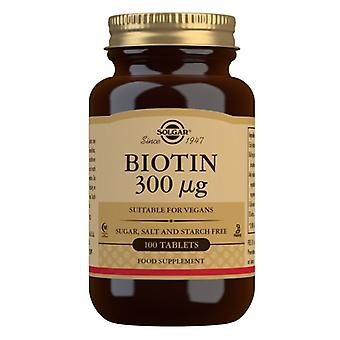 Solgar Biotin 300ug Tabletten 100 (280)