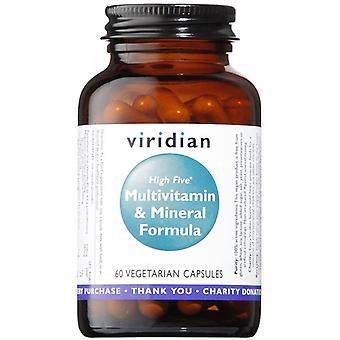 Viridian hög fem multivitamin & mineral formula veg CAPS 60 (111)
