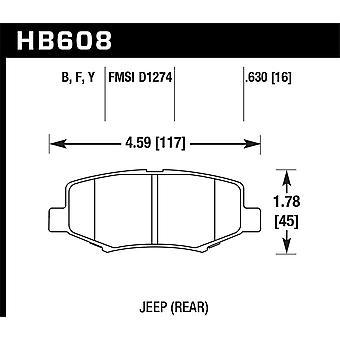 Hawk Performance HB608Y. 630 LTS