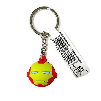 Sleutelhanger-Marvel-Iron Man-icon bal sleutelhanger nieuwe 68709