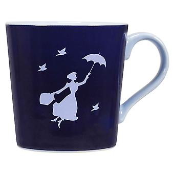 Mary Poppins Mug Winds in the East Heat Changing Tapered Official White Boxed