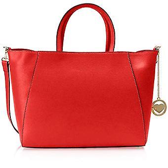 Chicca Bags Cbc3302tar Red Women's Shoulder Bag 15x29x42 cm (W x H x L)