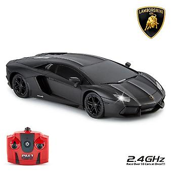 Lamborghini Aventador Radio Controlled Car 1:24 Scale Black