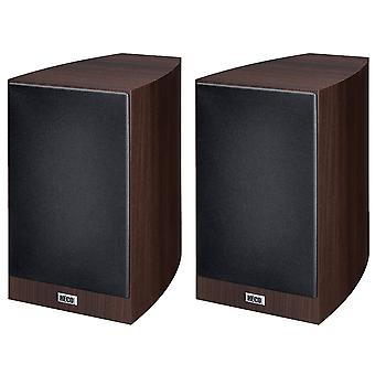 Heco Victa Prime 302, 2 way bass reflex, 150 Watts Max, espresso 1 of pair new goods