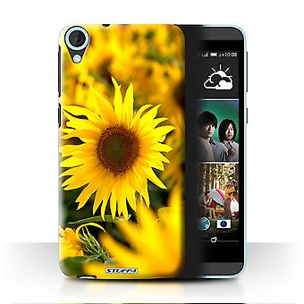 STUFF4 Case/Cover for HTC Desire 820s Dual/Flower Fields/Floral Garden Flowers