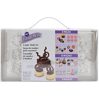 Candy Mold Party Pack Makes 8 W50030