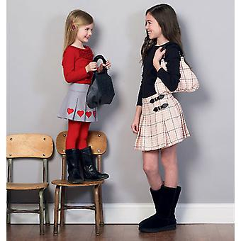 Children's Girls' Skirts And Purse  3  4  5  6 Pattern M6784  Cce
