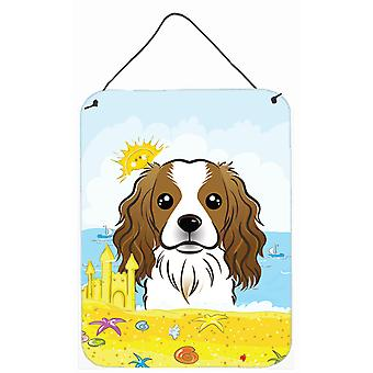 Cavalier Spaniel Summer Beach Wall or Door Hanging Prints BB2092DS1216