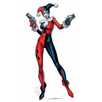 Harley Quinn Justice League / selvmord Squad DC Comics pap påklædningsdukke / Standee / står