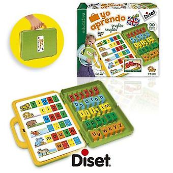 Diset I Learn English (Kids , Toys , Education , Letters And Languages)