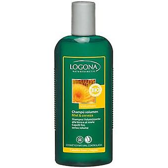 Logona Volume Shampoo Honey & Beer