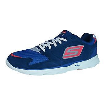 Skechers Go Run Sonic Victory Mens Running Trainers / Shoes - Navy