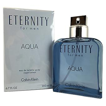 CK Eternity Aqua uomo da Calvin Klein 6.7 OZ EDT Spray