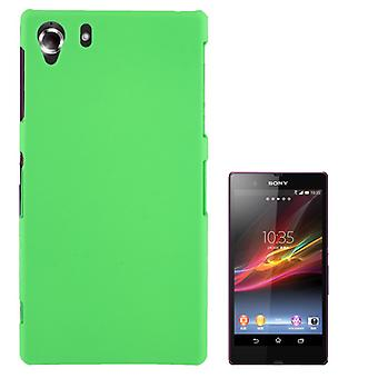 Cover plastic case for Sony Xperia Z1 Green