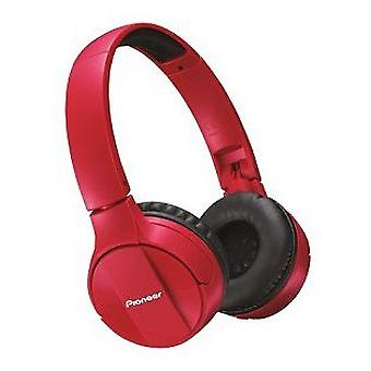 Pioneer Headband headset mj553bt-r-red