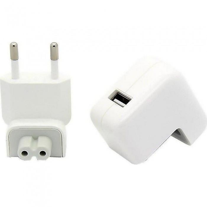 Original blister 2 x Apple MD836ZM/A USB AC adapter 12W, travel charger A1401, iPhone iPad iPod