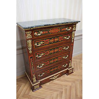 Chest of drawers baroque cabinet Louis xv antique style MkKm0099AGn