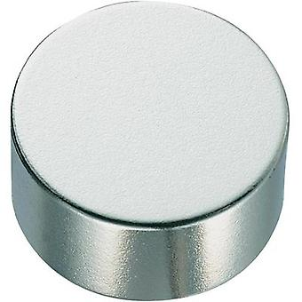 Permanent magnet Circular N35M 1.24 T Temperature limit (max.): 100 °C Conrad Components