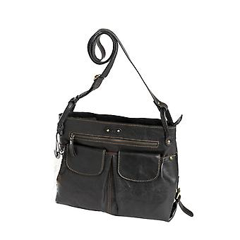 Dr Waxi Amsterdam shoulder bag Black