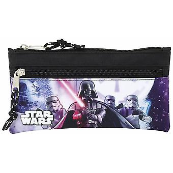 Safta Portatodo Dos Cremalleras Star Wars (Toys , School Zone , Pencil Case)