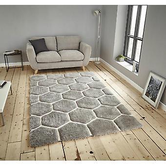 Nobel House 30782 Grey White  Rectangle Rugs Funky Rugs