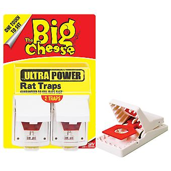 The Big Cheese Ultra Power Rat Trap Pk2 (Pack of 6)