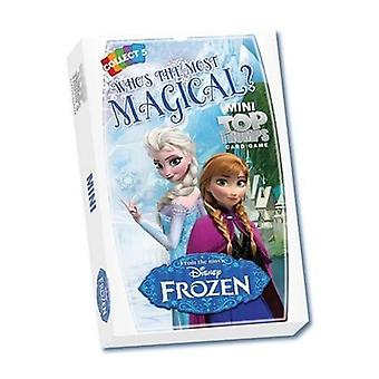 X2  | DISNEY FROZEN  | TOP TRUMPS MINI | Official Top Trumps Cards