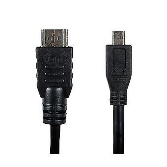 2 Metre Gold Hdmi to Micro Hmdi High Speed Cable