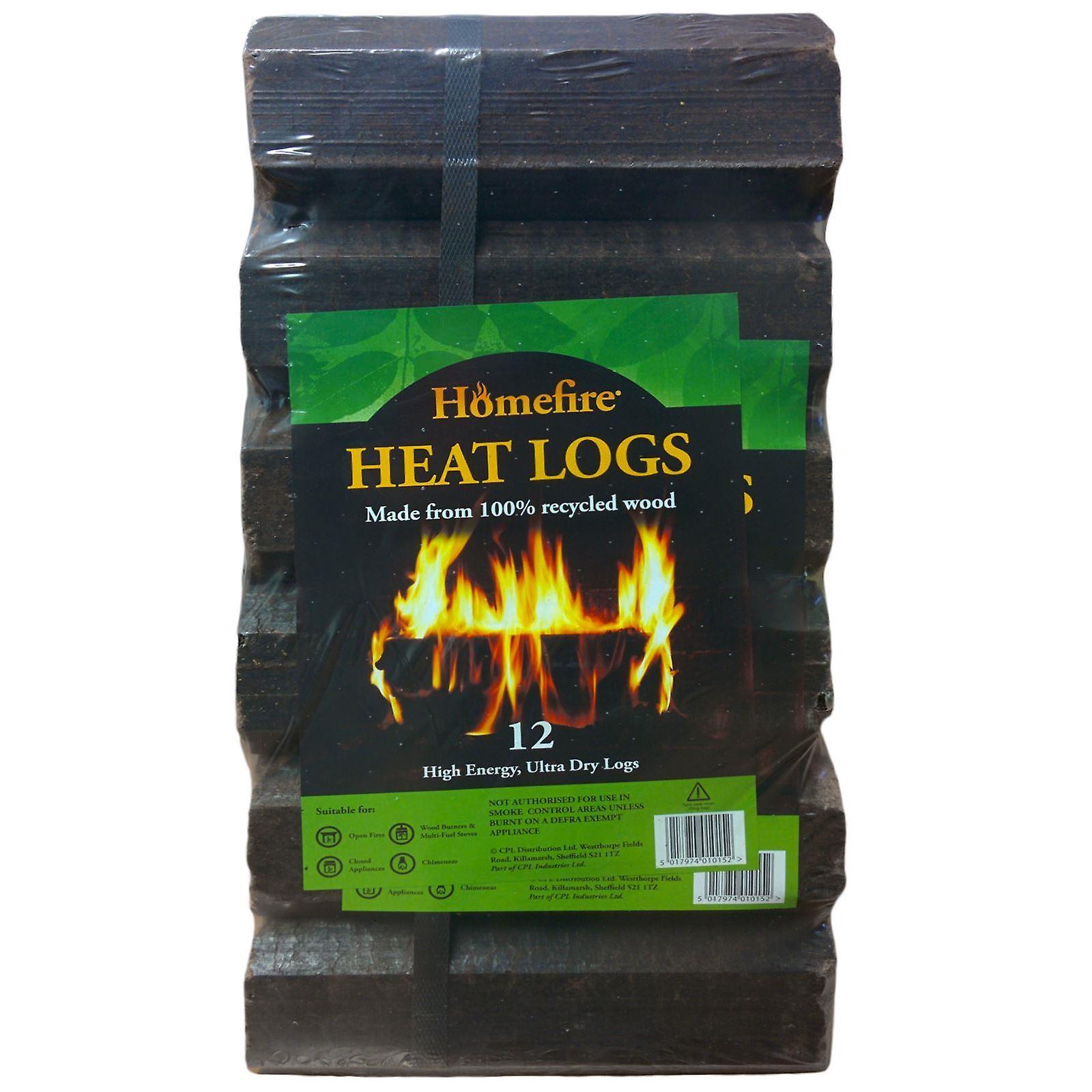 Homefire 12 High Energy Ultra Dry Heat Logs