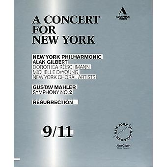 A. Mahler - koncert for New York [BLU-RAY] USA import