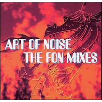 Kunsten at støj - Fon blander [CD] USA import