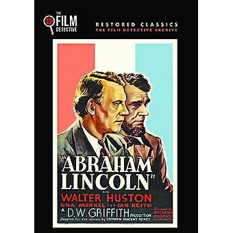 Abraham Lincoln [DVD] USA importerer