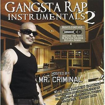 Gangsta Rap - importación de Vol. 2-Gangsta Rap [CD] Estados Unidos