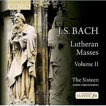 Bach, J.S./Sixteen/Christophers - lutherske masserne II [CD] USA import