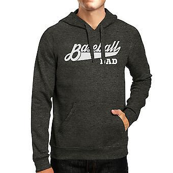 Baseball Dad Hoodie Perfect Dad Birthday Gift Ideas Pullover Fleece