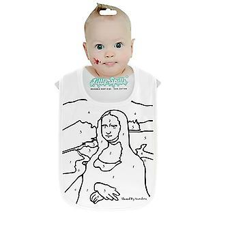 Bib Vincent van Kleck Mona Lisa baby joke prank