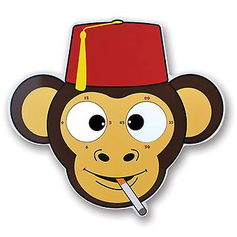 Scimmia orologio con scherzo scimmia scimmia retrò Googly-Eyed orologio