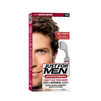Just For Men Just For Men AutoStop Foolproof Haircolour Medium Brown (A35)