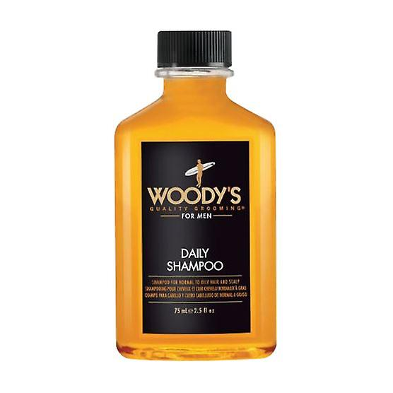 Woody's For Men Daily Shampoo 75ml (Travel Sized)