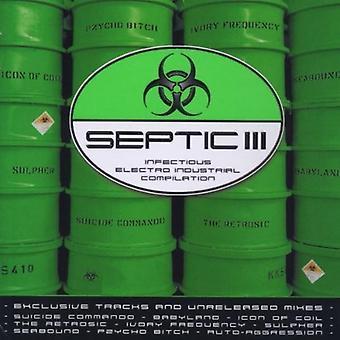 Septisk III - septisk III [CD] USA importerer