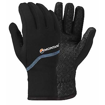 Montane Mens Power Stretch Pro Grippy Glove Black (Large)