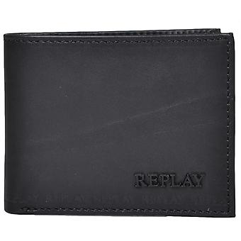 Replay nero Trifold Wallet
