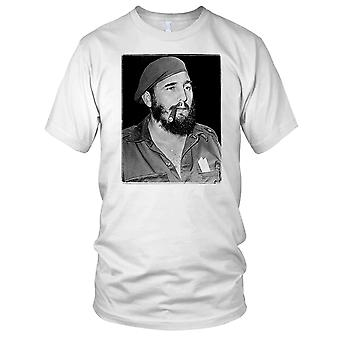 Fidel Castro Cuban Communist Legend Kids T Shirt